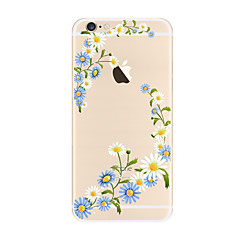 Na Przezroczyste Wzór Kılıf Etui na tył Kılıf Kwiat Miękkie TPU na AppleiPhone 7 Plus iPhone 7 iPhone 6s Plus iPhone 6 Plus iPhone 6s