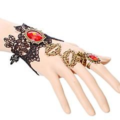 Dames Armbanden met ketting en sluiting Modieus Kant Kroonvorm Sieraden Voor Bruiloft Feest Speciale gelegenheden  Verjaardag Kerstcadeaus