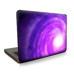 voor MacBook Air 11 13 / pro13 15 / pro met retina13 15 / macbook12 paars whirlpool beschreven apple laptop case
