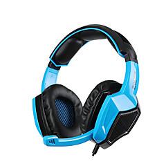 sades SA-920 5 i 1 stereo gaming headset hovedtelefoner med mikrofon til laptop / PS4 / Xbox 360 / PC / mobiltelefon gamer