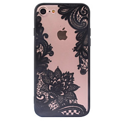 terug Mat / Other Lace Printing PC Hard Retro Pattern+Relief Geval voor Apple iPhone 6s Plus/6 Plus / iPhone 6s/6 / iPhone SE/5s/5