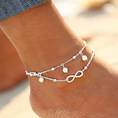 New Hot 1PC Hot Summer Beach Ankle Infinite Pearl Drop Foot Jewelry Anklets Anklet Bracelets for women