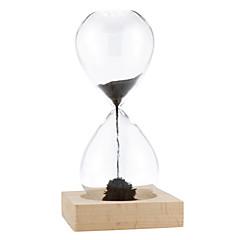 högkvalitativa fashionabla magnet magnetiska timglas tid kreativa inredningsartiklar
