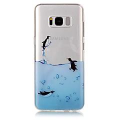 Na IMD Przezroczyste Wzór Kılıf Etui na tył Kılıf Wzór zwierzęcy Miękkie TPU na Samsung S8 S8 Plus S7 edge S7 S6 edge S6 S5