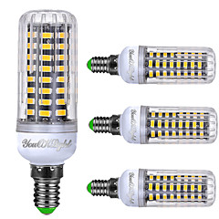 6W E14 LED a pannocchia T 72 SMD 5733 550 lm Bianco caldo Luce fredda Bianco AC 220-240 V 4 pezzi