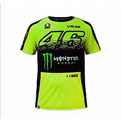 motogp t-shirt strój do jazdy konnej motocykl vr46 knight locy bawełna krótki rękaw koszulka trykotowa wyścigowa