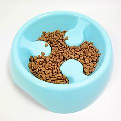 Kedi Köpek Kaseler ve Su Şişeleri Evcil Hayvanlar Kaseler ve Besleme Su Geçirmez Taşınabilir Kırmzı Yeşil Mavi