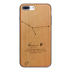 Cancer Sign Ultra-thin Protective Back Cover iPhone Wood Case FOR iPhone7 7 Plus iPhone6s 6Plus SE 5s