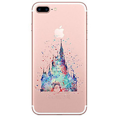 Til iPhone X iPhone 8 Etuier Transparent Mønster Bagcover Etui Tegneserie Blødt TPU for Apple iPhone X iPhone 8 Plus iPhone 8 iPhone 7
