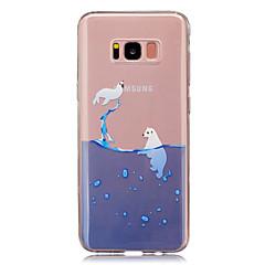 Voor IMD Transparant Patroon hoesje Achterkantje hoesje Dier Zacht TPU voor Samsung S8 S8 Plus S5 Mini S4 Mini