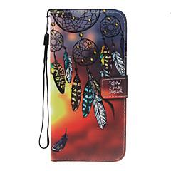 Για το iphone 7plus 7 pu δερμάτινο υλικό όνειρο συλλέκτης σχέδιο πορτοφόλι τμήμα τηλέφωνο περίπτωση για 6 συν 6s 5 se