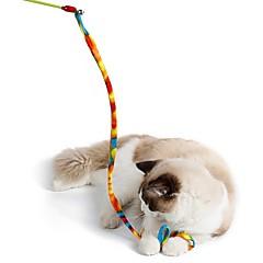 Jucărie Pisică Jucării Animale Interactiv Reclame Funie Pliabil Stic Pisici Plastic țesătură