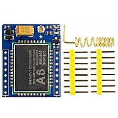 Gprs a6 mini série gprs module gsm core developemnt board