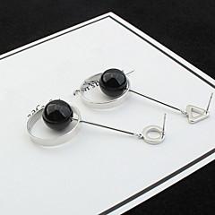 Κρεμαστά Σκουλαρίκια Κρίκοι Απομίμηση ΜαργαριτάριΒασικό Μοναδικό Λογότυπο Κρεμαστό Μαργαριταρένια Γεωμετρικό Φιλία Σκαλιστό Χιπ-Χοπ
