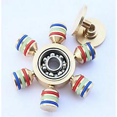 Fidget Spinners Przędzarka ręczna Zabawki Zabawki Metal EDCStres i niepokój Relief Zabawki biurkowe Za czas zabicia Focus Toy Zwalnia