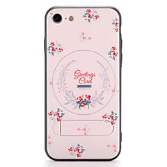 Til Apple iPhone 7 7plus Case Cover med stativ mønster bagside cover blomst hard pc 6s plus 6 plus 6s 6