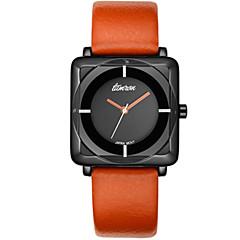 Hombre Reloj Deportivo Reloj de Moda Cuarzo Piel Banda Azul Rojo Naranja