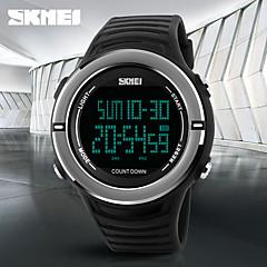 SKMEI Unisex Sportuhr Militäruhr Armbanduhr Digitaluhr Japanisch digitalKalender Wasserdicht Duale Zeitzonen Alarm Stopuhr Nachts