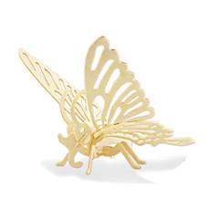 Legpuzzels 3D-puzzels Bouw blokken DHZ-speelgoed Vlinder Hout