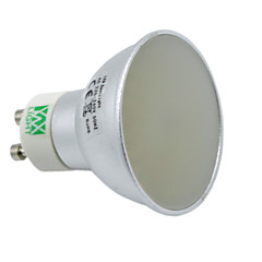 YWXLight® Dimmable 5W GU10 GU5.3(MR16) 128LED 3014SMD 400-500Lm Warm White Cold White Natural White Decorative LED Spotlight AC 220V AC 110V 1 pcs