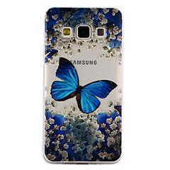 Για samsung γαλαξία a3 a5 (2017) περίπτωση κάλυψης πεταλούδα μοτίβο πτώση κόλλα βερνίκι υψηλής ποιότητας tpu υλικό τηλέφωνο περίπτωση α3