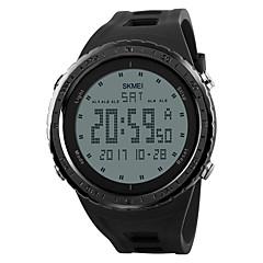 SKMEI גברים שעוני ספורט שעונים צבאיים שעוני אופנה שעון יד שעון דיגיטלי Japanese דיגיטליLED לוח שנה כרונוגרף עמיד במים אזעקה זוהר בחושך צג