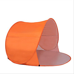 2 személy Sátor Egyszemélyes kemping sátor Automatikus sátor Vízálló Hordozható Szélbiztos Lélegzési képesség Tömörítés 1000-1500 mm mert