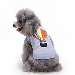 Cat Dog Shirt / T-Shirt Vest Dog Clothes Summer Embroidered Cute Fashion Casual/Daily