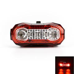 achterlichten LED LED Wielrennen Oplaadbaar Super Light Waarschuwing USB Lumens USB Rood Fietsen Voor buiten