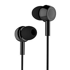 Usams ep-12 hifi w uchu platerowany mały zestaw słuchawkowy z mikrofonem i funkcją diodową