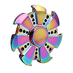 Fidget spinners Hand Spinner Speeltjes Ring Spinner Metaal EDCStress en angst Relief Kantoor Bureau Speelgoed Relieves ADD, ADHD, Angst,