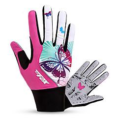 BAT FOX Activiteit/Sport Handschoenen Dames Fietshandschoenen Herfst Lente Winter Wielrenhandschoenen Draagbaar Ademend Schokbestendig