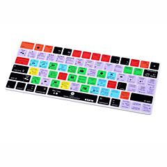Xskn® lightroom cc genväg silikon tangentbord hud för magisk tangentbord 2015 version (us / eu layout)
