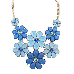 Women's Strands Necklaces Jewelry Jewelry Gem Alloy Euramerican Fashion Personalized Jewelry For Party Special Occasion Gift 1pc