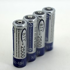 Nh-Aa  2500 1.2v   Rechargeable