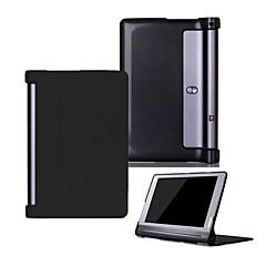 Pu hoes voor Lenovo Yoga Tab3 tab 3 10 plus yt-x703 x90 met schermbeveiliging