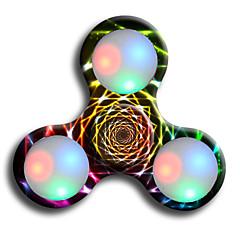 Fidget Spinners Przędzarka ręczna Zabawki Pierścień przędzarki LED Spinner ABS EDCStres i niepokój Relief Zabawki biurkowe Za czas