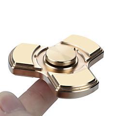 Fidget Spinners Przędzarka ręczna Zabawki Tri-Spinner Ceramika Mosaz Miedź Ceramika EDCStres i niepokój Relief Zabawki biurkowe Zwalnia