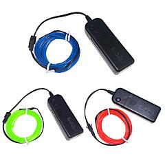 3W W Ohebné LED pásky 250 lm <5V 3 m lED diody Vícebarevné