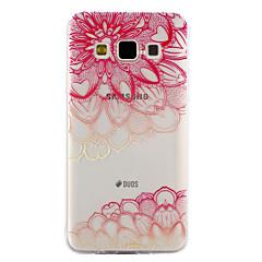 Samsung Galaxy a3 a5 (2017) tapauksessa kattaa lävistäjä kukkakuvio pudottaa liima lakka laadukas TPU materiaalista puhelinkotelo a3 a5