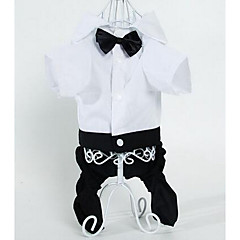 Perros Pantalones Ropa para Perro Verano Rayas Adorable Moda Negro