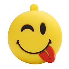 Heißes neues Karikaturfreies smileygesicht usb2.0 128gb grelles Antrieb u Scheibe Gedächtnisstock