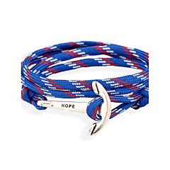Dames Heren Lederen armbanden Sieraden Natuur Modieus Leder Legering Sieraden Voor Speciale gelegenheden  Sport