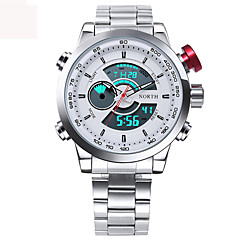 Herre Sportsur Militærur Kjoleur Modeur Armbåndsur Unik Creative Watch Casual Ur Digital Watch Japansk Quartz Digital Japansk QuartzLED