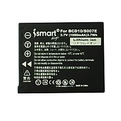 ismartdigi új S007 3.7V 1000mAh kamera akkumulátor Panasonic S007 s007e TZ1 TZ4 TZ5 tz11 tz15 bcd10