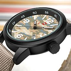 NAVIFORCE Αντρικά Αθλητικό Ρολόι Στρατιωτικό Ρολόι Μοδάτο Ρολόι Ρολόι Καρπού Καθημερινό Ρολόι Ιαπωνικά Χαλαζίας Ημερολόγιο Μεγάλο καντράν