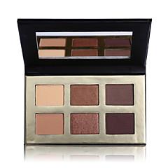 6 Paleta de Sombras Secos Paleta da sombraMaquiagem Esfumada Maquiagem para o Dia A Dia Maquiagem para Dias das Bruxas Maquiagem de Festa