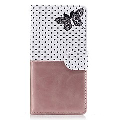 For Sony Xperia Z5 Z3Case Cover Card Holder Wallet with Stand Flip Pattern Full Body Case Butterfly Hard PU Leather