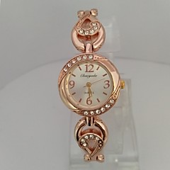 Women's Ladies' Fashion Watch Bracelet Watch Chinese Quartz Digital Rose Gold Plated Alloy Band Sparkle Elegant Casual Rose Gold