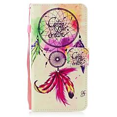 Για Apple iPhone 7 7 plus 6s 6 plus se 5s 5 κάλυψη περίπτωσης ανεμοστρόβιλος μοτίβο ζωγραφισμένα pu δέρμα υλικό καρτέλα stent πορτοφόλι